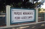 Pedro Albizu Campos Park Monument