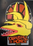 Poster of the 1991 Ponce Carnival