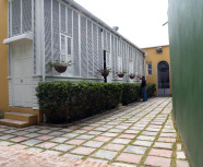 Casa Paoli court yard