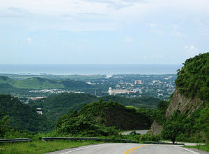 Panoramic view from Ponce's Maraguez ward.