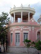 Casa Wiechers' majestic rooftop gazebo