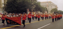 Ponce Municipal Band at Washington D.C. in 1991