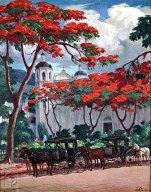 Las Calesas de Ponce by Miguel Pou (1940)