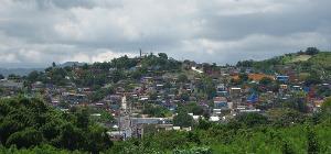 Picturesque view of El Cerro in Yauco, Puerto Rico