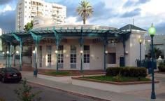 Main building at the Dora Colón Clavell Park