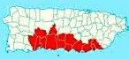 Porta Caribe map