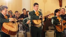 Gallant Mexican Mariachis at the Ponce Cathedral