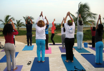 Yoga at Costa Caribe