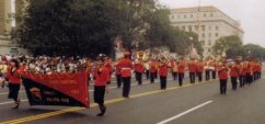 Ponce Municipal Band at Washington D.C. in 1991