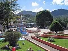 The view from Plaza Arístides Moll Boscana in Adjuntas