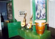Puerto Rican Music Museum's instruments exhibit